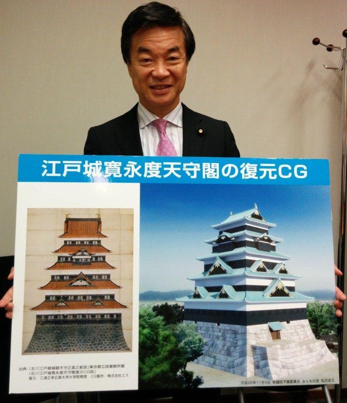 チェンジ江戸城写真