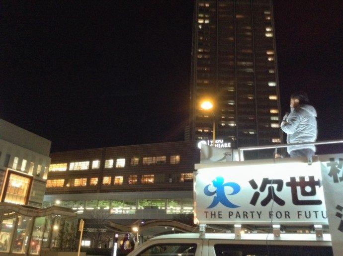 総選挙12日目武蔵小杉駅