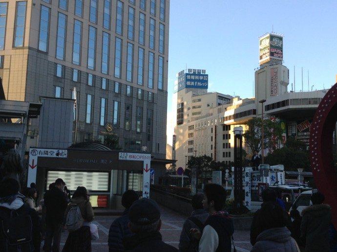 総選挙12日目横浜駅西口